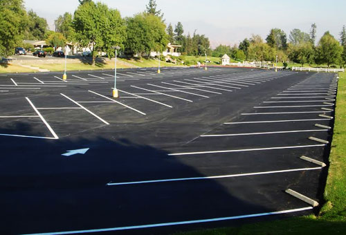 ADA Striping Parking Lot, Roads